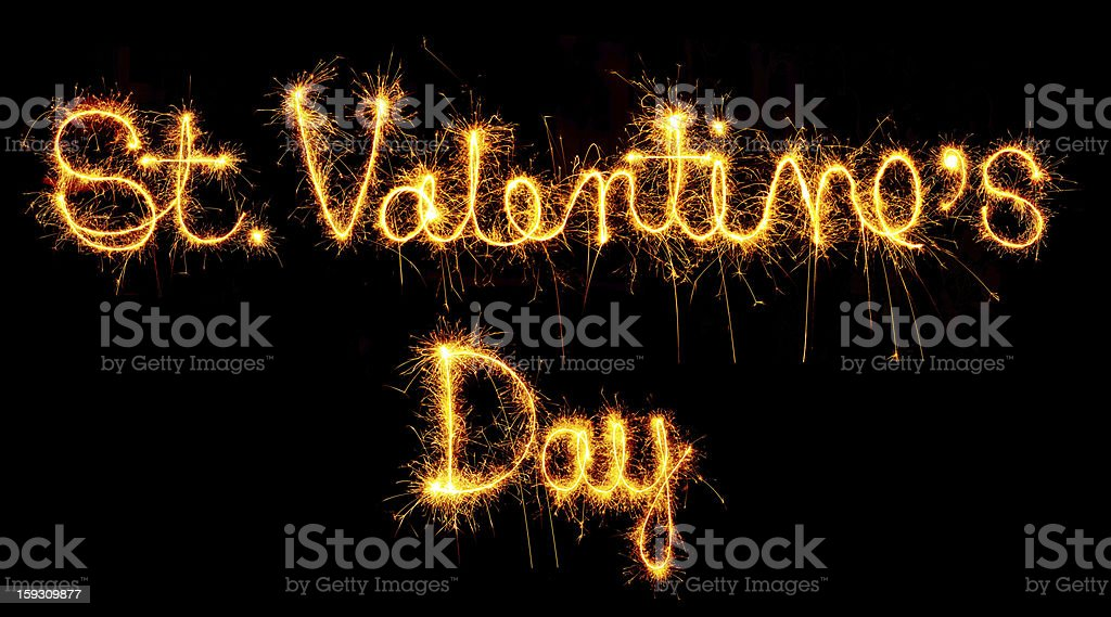 St. Valentine's Day royalty-free stock photo