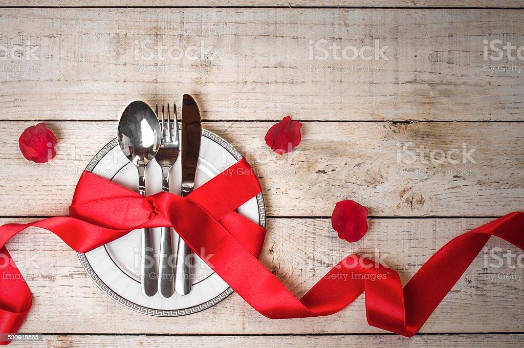St. Valentine's festival Tisch – Foto