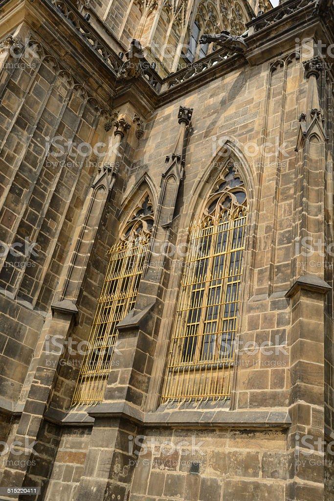 Catedral de St. Vittus Praga - foto de acervo