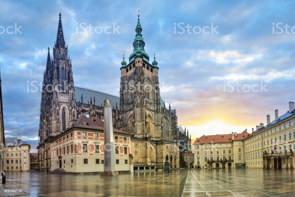 St.-Veits-Dom in Prag, Tschechien – Foto