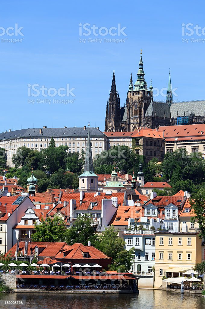 St. Vitus cathedral royalty-free stock photo