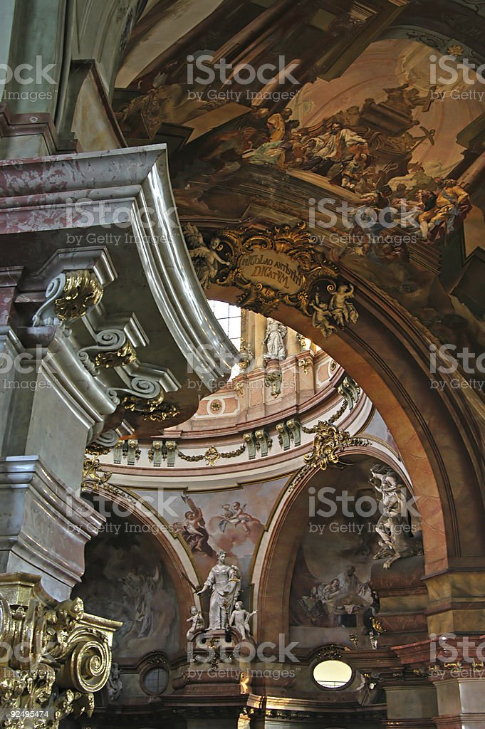 St Vitus's cathedral royalty-free stock photo