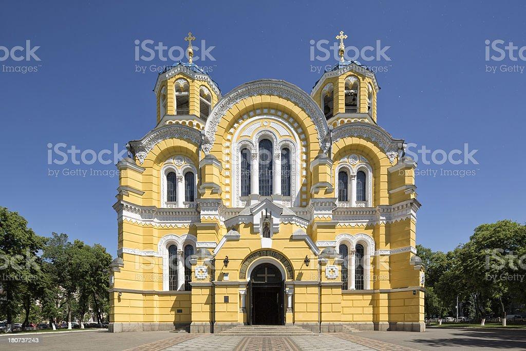 St. Volodymyr's Cathedral, Kiev, Ukraine stock photo