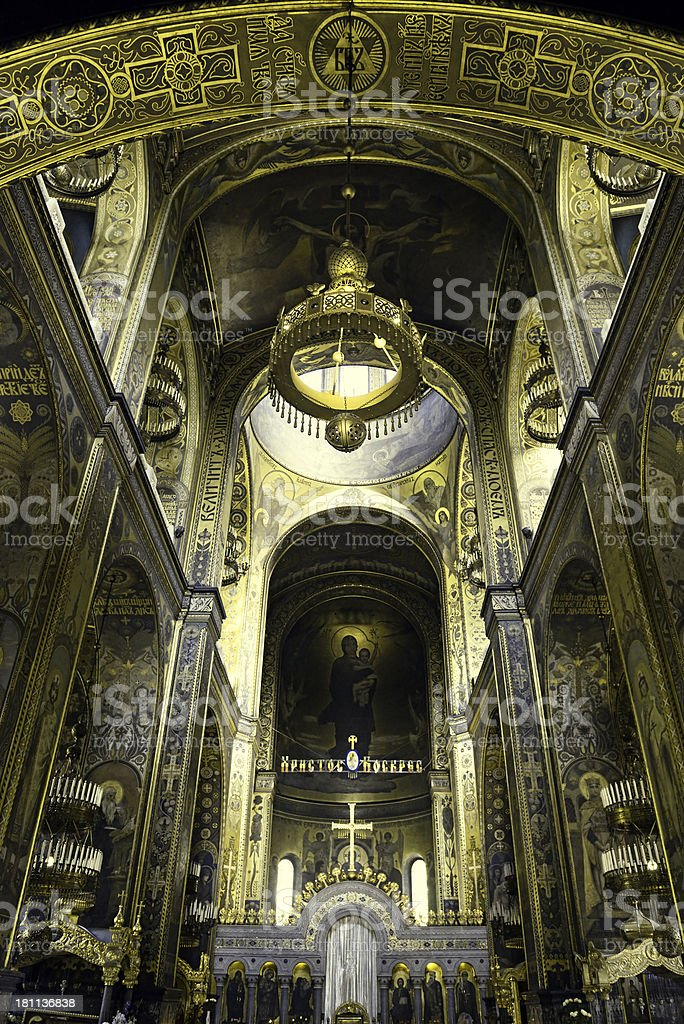 St. Volodymyr's Cathedral stock photo