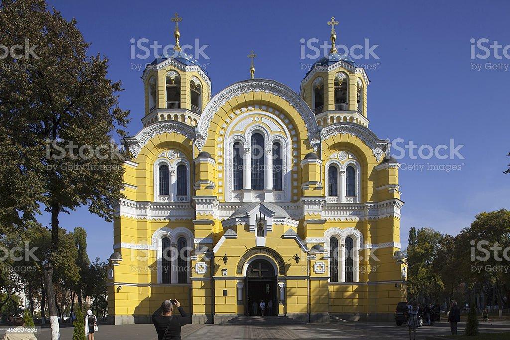 St. Volodymyr's, Kiev stock photo
