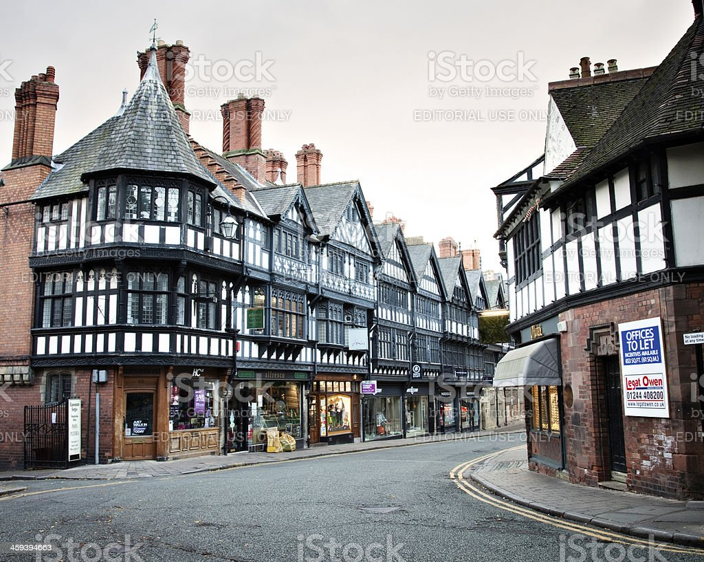 St Werburgh Street at Dawn stock photo