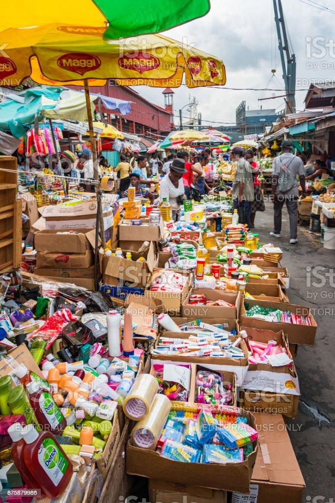 Stabroek Market In Georgetown Guyana Stock Photo - Download
