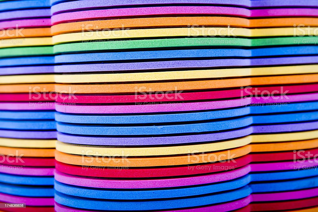 stack multi colored book child XXXL royalty-free stock photo