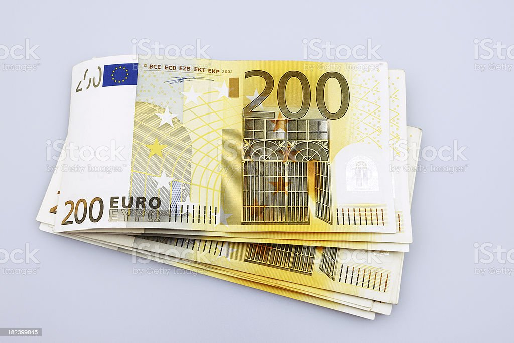Stack of 200 euro banknotes stock photo istock for Ohrensessel 200 euro