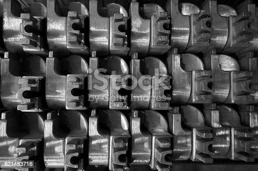 istock stack of aluminum casting 621483716