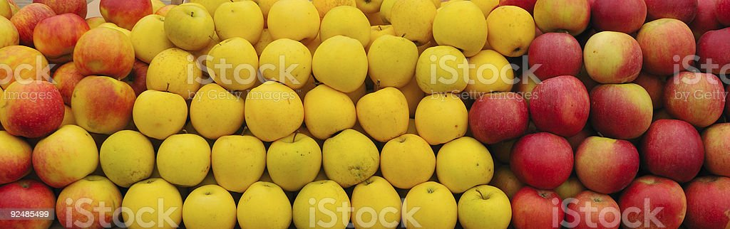 Stack of apples royalty-free stock photo