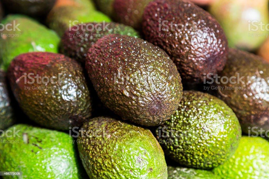Stack of Avocado stock photo