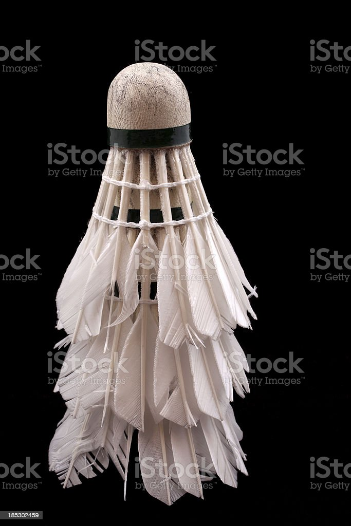 Stack of Badminton Shuttlecock stock photo