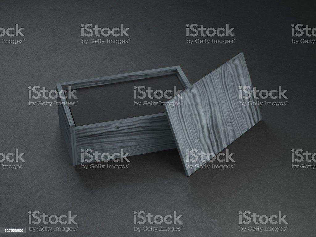 Stapel Von Schwarzen Visitenkarten Mockup In Schwarzer