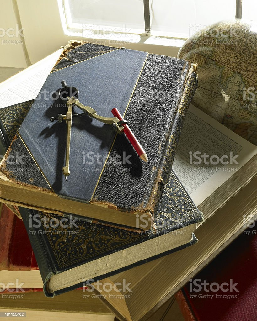Stack of Books 2 royalty-free stock photo