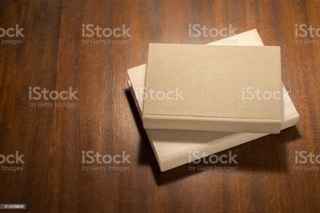 stack of  books on the table stock photo