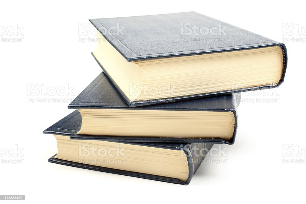 Stack of books. royalty-free stock photo