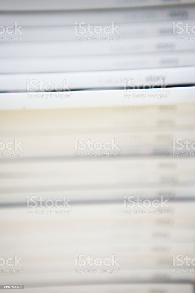 Stack of books piled up stock photo