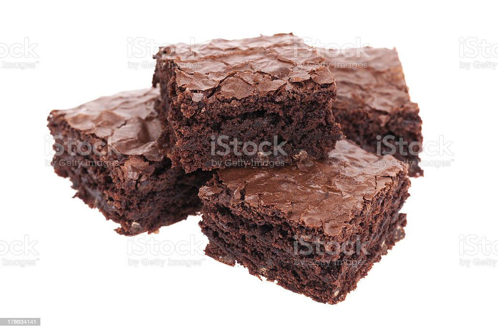 Pile de brownies - Photo
