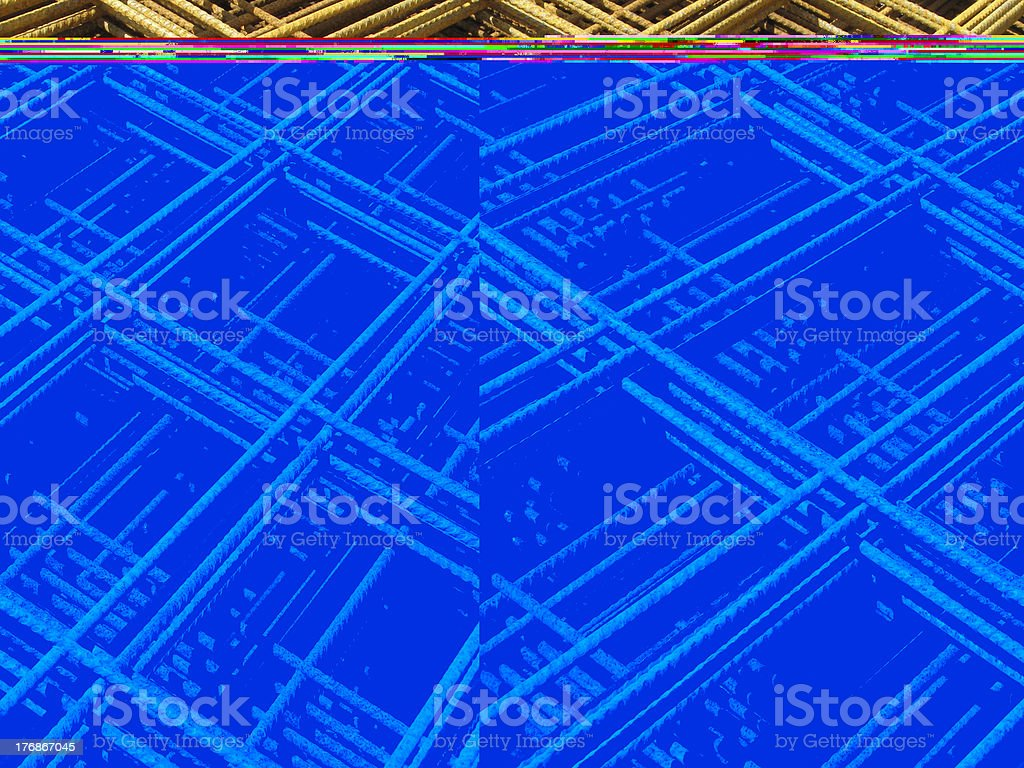 Stack of building materials royalty-free stock photo