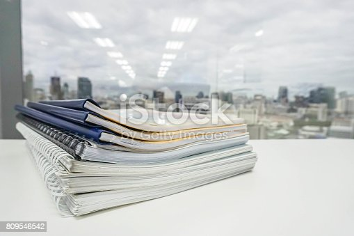 istock stack of business folder and documents for audit review 809546542