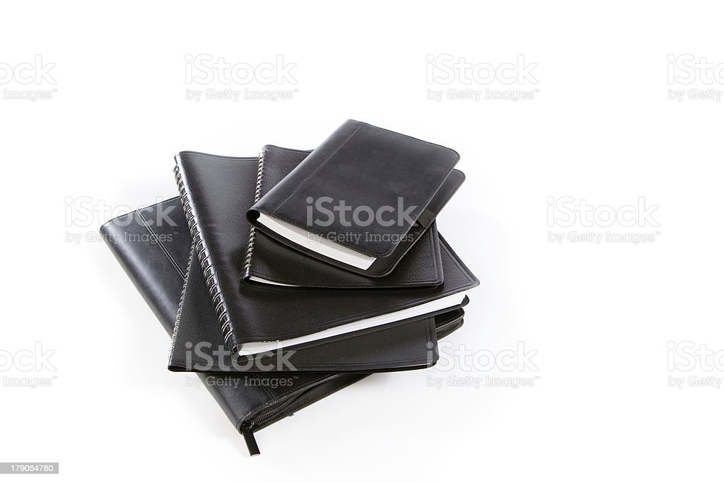 Stack of Calendars royalty-free stock photo