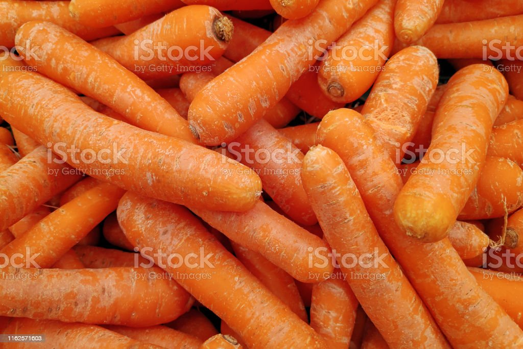 Stack of carrots - Royalty-free Agricultural Fair Stock Photo
