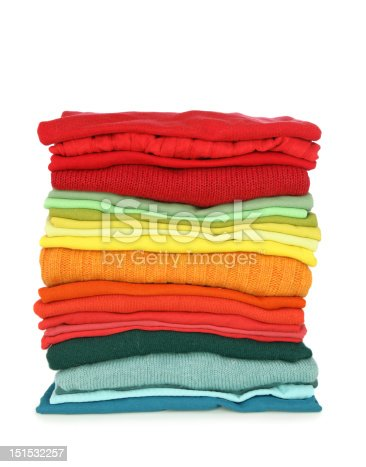 186826582 istock photo Stack of clothes 151532257