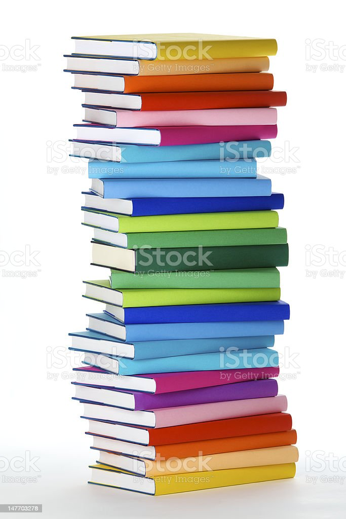 Pile de livres colorés - Photo