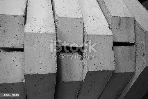 istock stack of concrete blocks 909427338