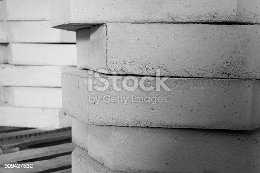 istock stack of concrete blocks 909427532