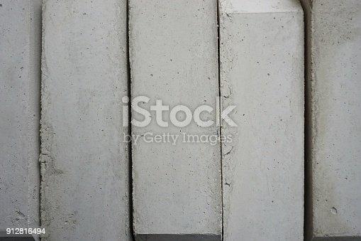 istock stack of concrete blocks 912816494