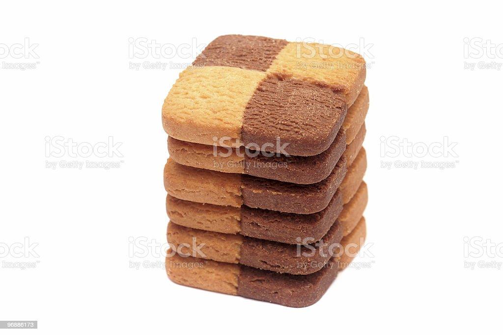 Stapel von cookies. Lizenzfreies stock-foto
