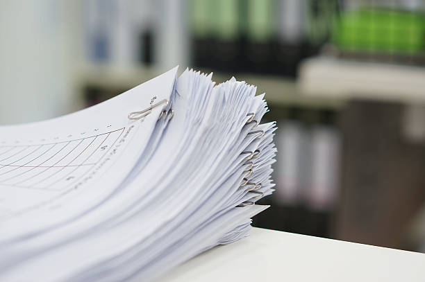 stack of data test - conferences stock photos and pictures