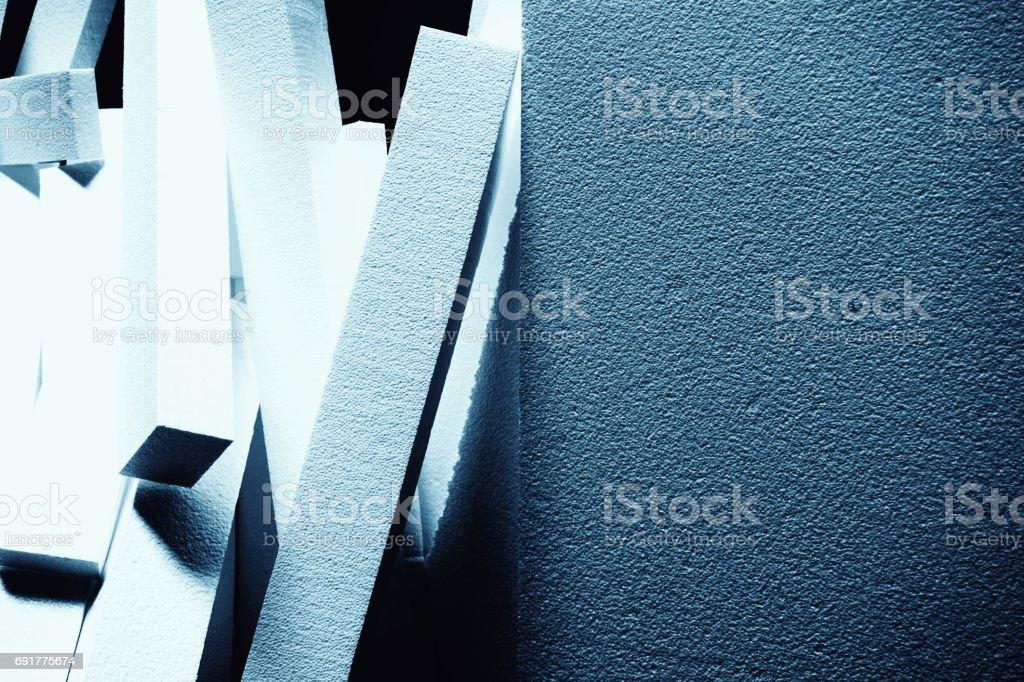 stack of foam stock photo
