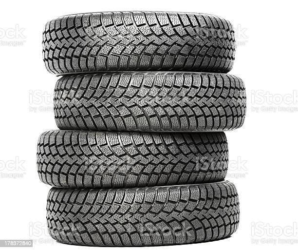 Stack of four car wheel winter tires isolated picture id178372840?b=1&k=6&m=178372840&s=612x612&h=bjab2zlww3qbbb5qo53xmcsi45cvkobjfhzsojesfkq=