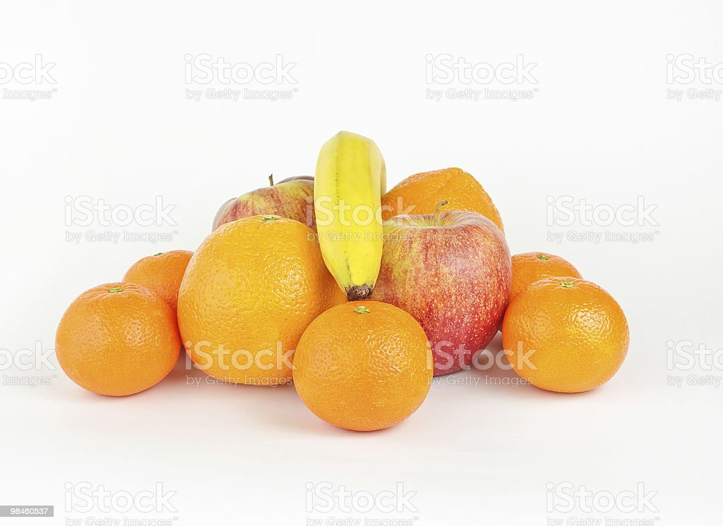 Stack of fruits royalty-free stock photo
