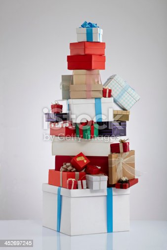 istock Stack Of Gift Boxes 452697245