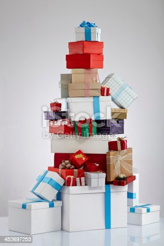 istock Stack Of Gift Boxes 452697253