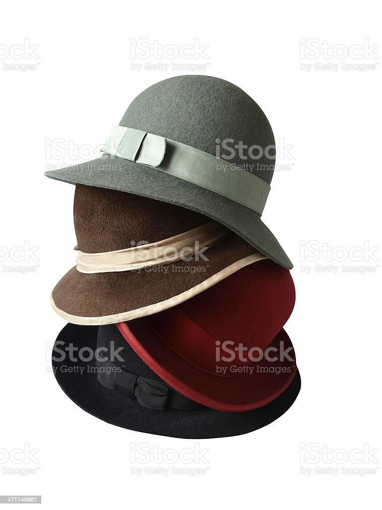 Stack of Hats (II) royalty-free stock photo