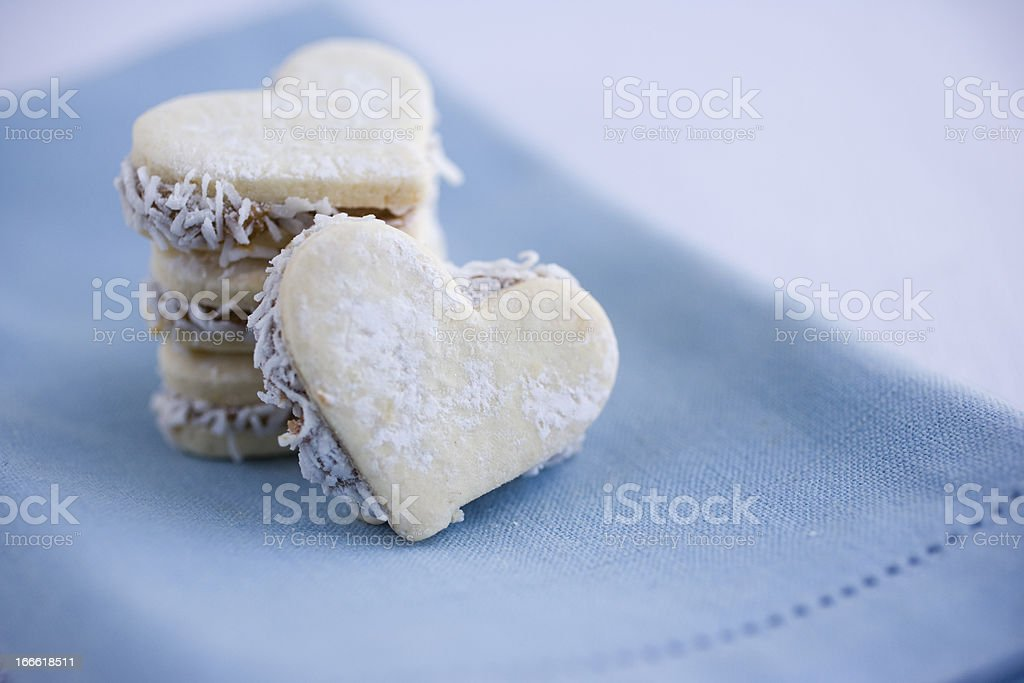 Stack of Hearts royalty-free stock photo