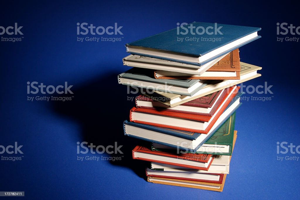 Stack of Learning royalty-free stock photo