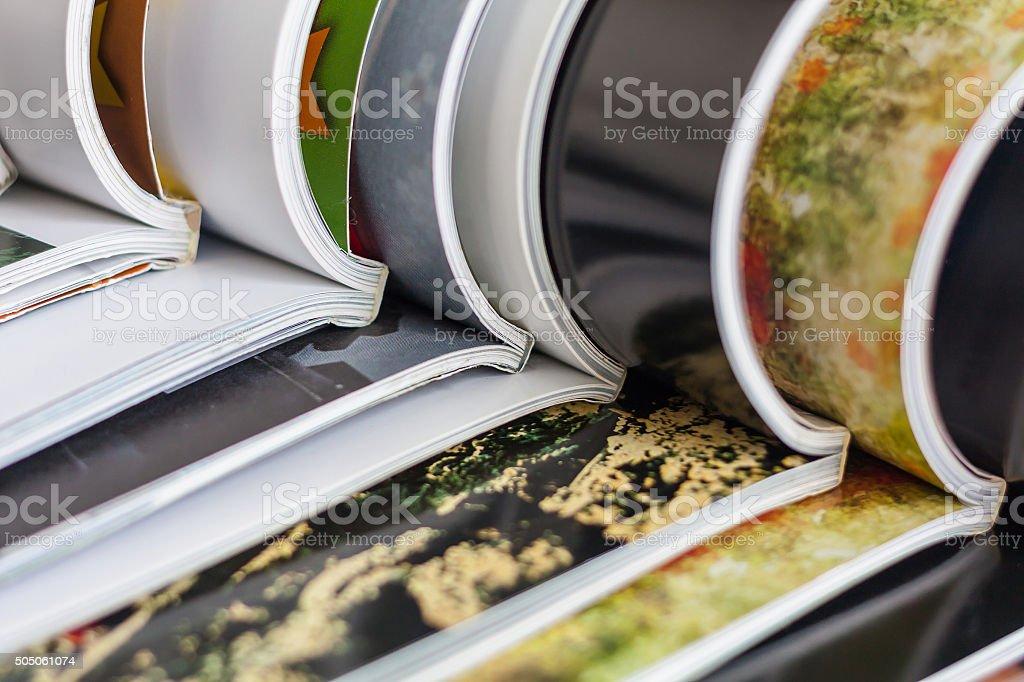 Pile de magazines - Photo