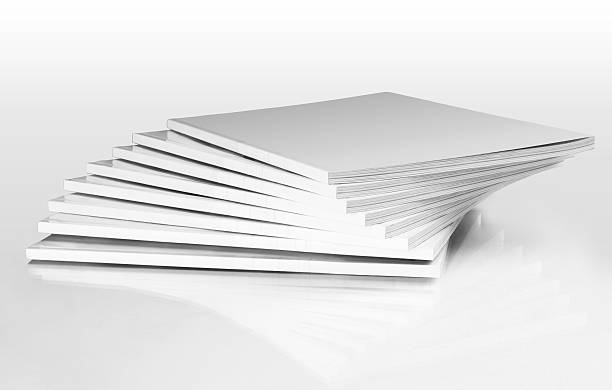 stack of magazines with a blank cover - stack rock stock pictures, royalty-free photos & images
