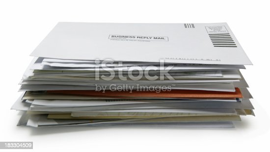 istock Stack of Mail 3 183304509