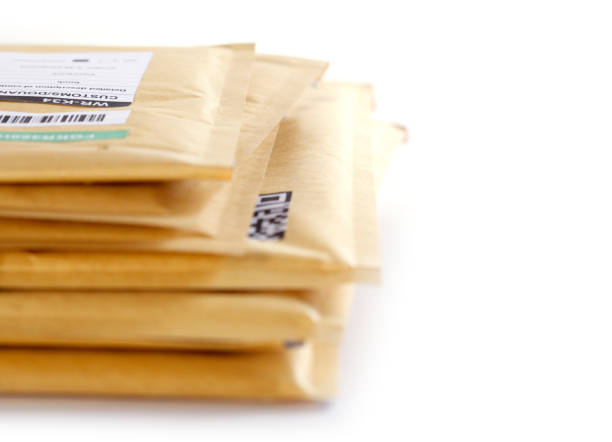 stack of mail - mail stock photos and pictures