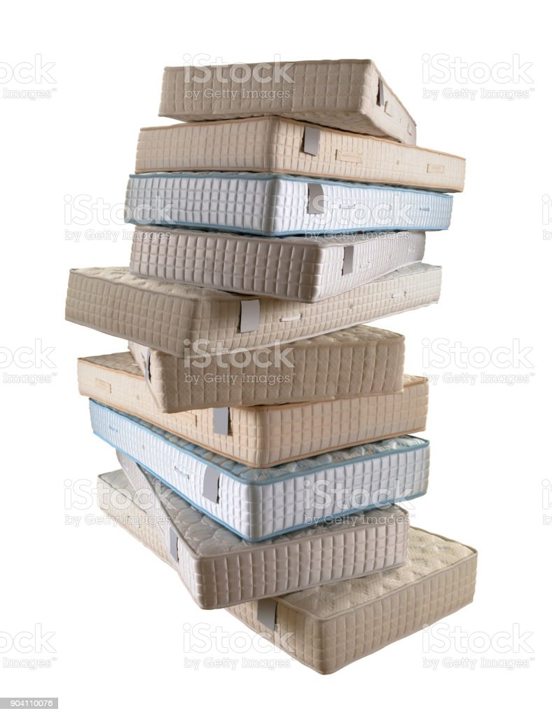 stack of mattresses. Stack Of Mattresses Royalty-free Stock Photo