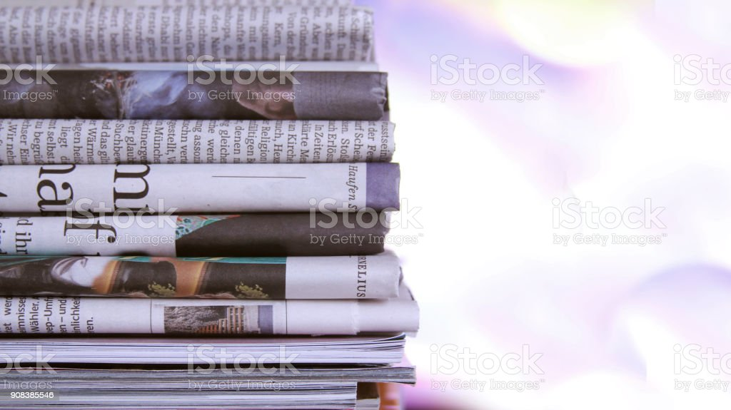 Pile de journaux - Photo