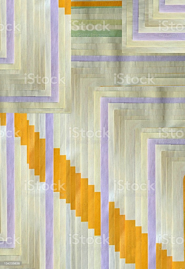 Stack of newsprint royalty-free stock photo