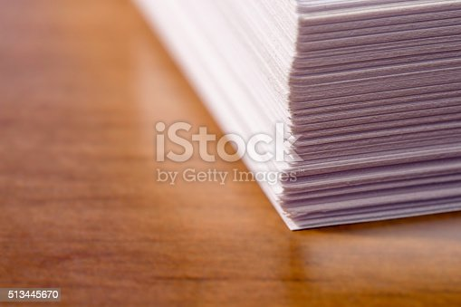 istock Stack of Office Papers 513445670